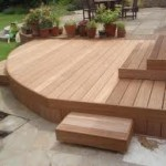 Angled Decking with access panels