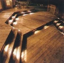 decking ideas lighting for your deck the self sufficiency diy info