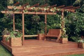 Decking Ideas A Simple Square Deck The Self