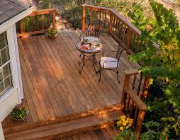 Garden Decking Ideas - Adding Handrails | The Self-Sufficiency DIY ...