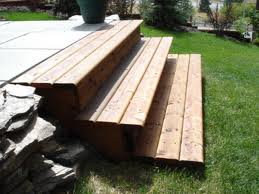 Wood deck designs adding steps the self sufficiency for Box steps deck