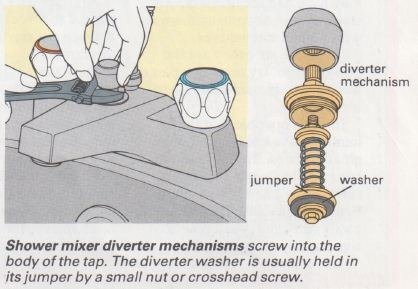 Electric shower how to fix electric shower for How to change a washer on a bathroom mixer tap