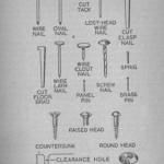 Types of Nails and Screws and Their Uses